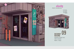 # ninety - 09 Building / Backdrop  KUSTOM9