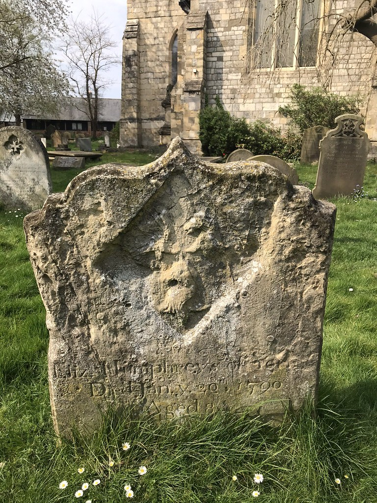 Humphrey Monument Parish Church of St Stephen Acomb - Graveyard Squirrel (April 2020)