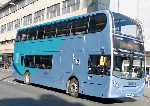 YP63 WFA 'Nottingham City Transport' No. 601. Scania 230UD / Alexander Dennis Ltd. Enviro400 on Dennis Basford's railsroadsrunways.blogspot.co.uk'
