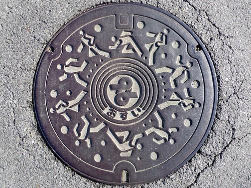 Nanno Gifu, manhole cover (岐阜県南濃町のマンホール)