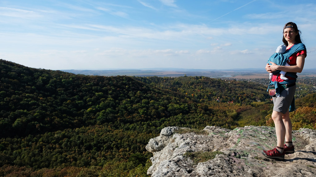 Hiking in the Buda Hills, Hungary