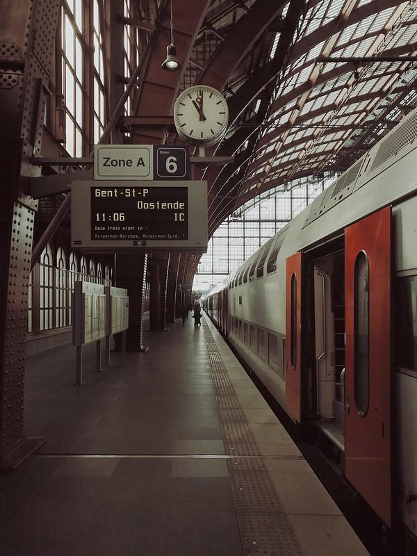 Tren a Ostende