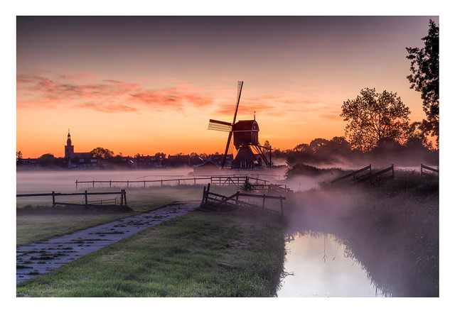 Sunrise in Streefkerk