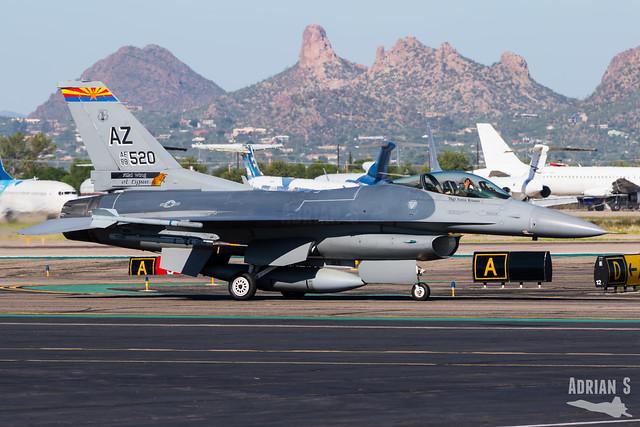 88-0520 F-16CM Fighting Falcon   KTUS   08.10.2019