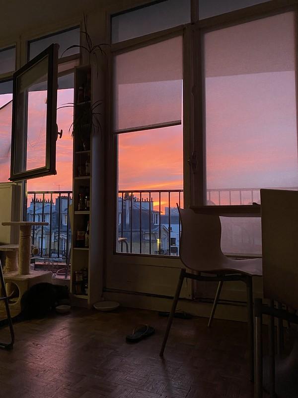 Sunset (no filter!)