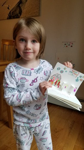 Her pop-up Santa's Village book