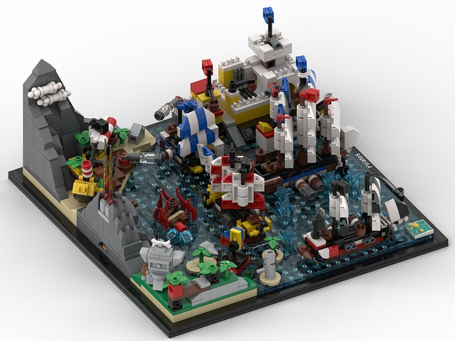 LEGO Classic Pirates Architecture MOC