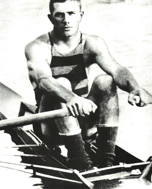 John B Kelly, won three Olympic gold medals.