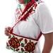 Las Rosas de Frida Mexican handmade beaded chaquira bag Exclusive By Ely Palmer