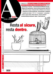 My cover for Rivista Anarchica, May 2020