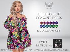 [Ari-Pari] Hippie Chick Peasant Dress