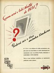 Publicidade antiga | vintage advertising | Portugal 1950s