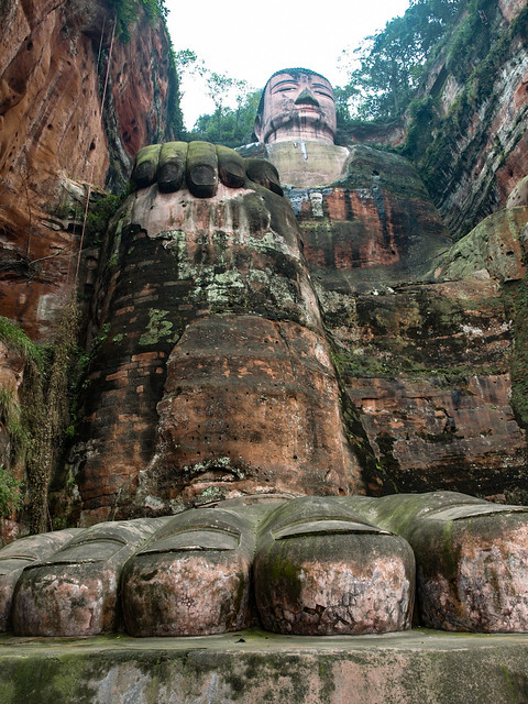 The Big Buddha at Leshan