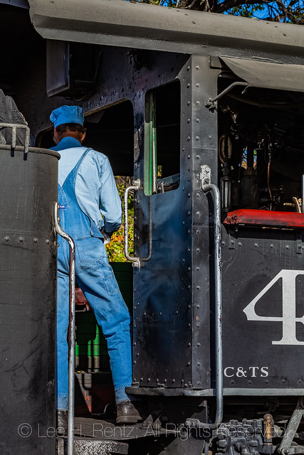 Steam Locomotive on the Cumbres & Toltec Scenic Railroad