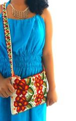 La fiesta de las flores mexican beaded stunning handmade bag