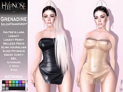 HYPNOSE - GRENADINE DRESS