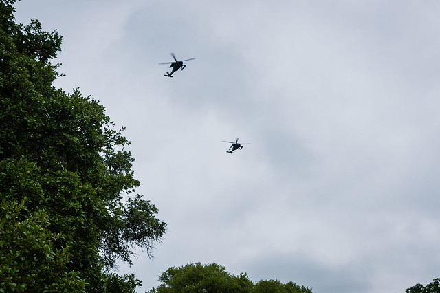 2020 Visions 5.10 ~ Helicopter Salute to Medical Personnel at Coryell Memorial