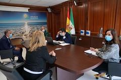 2020_05_15 - Reuni�n en la Mancomunidad de municipios de la Costa del Sol