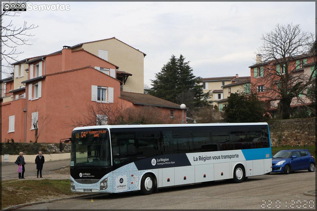 Iveco Bus Crossway – Sradda (Sud Rhône-Alpes Déplacements Drôme-Ardèche) / Auvergne-Rhône-Alpes