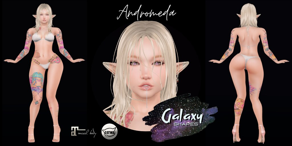 Andromeda for Catwa Catya by Galaxy Shapes