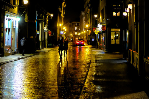 Streets of Gold in Montreal, Canada