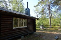 The cabin at Bárasjuhka.