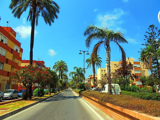 <Avenida Antonio Machado> Los Barrios (Cádiz) Explorar 16/05/2020