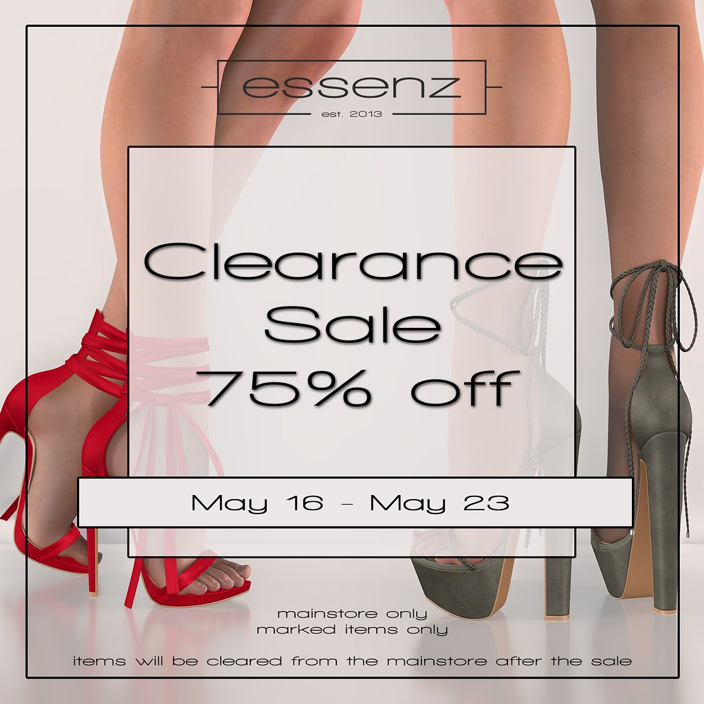 Essenz – Clearance Sale