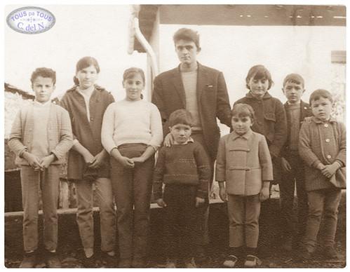 1972 - Maestro y alumnos