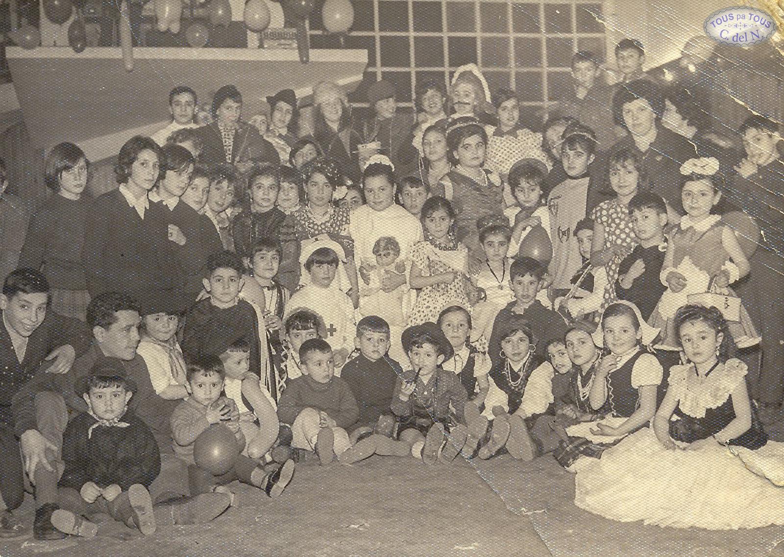 1965 - Carnaval infantil en El Club