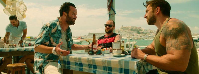 Grabando en el puerto de Ibiza
