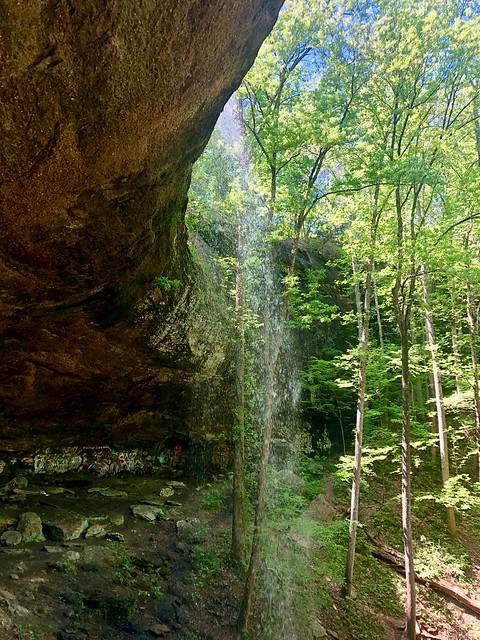 Falling Rock Falls near Montevallo, Alabama