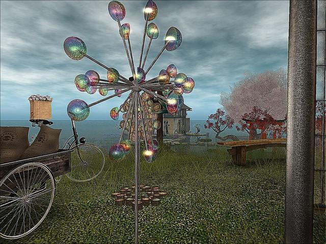 Kintsugi; Spirited Beyond - Garden Spinner