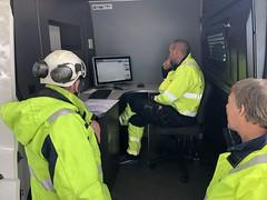 PD og tangensdelta målinger i Sannefjord og Larvik for Skagerak Energi Nett med Sunnfjord Energi (nå BKK) sin nye Centrix kabelmålebil.