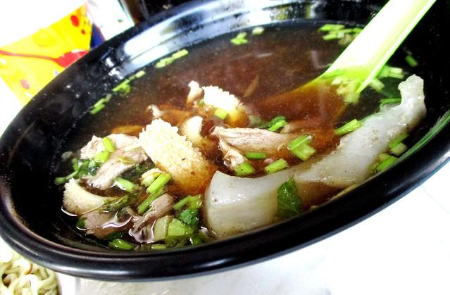 Ah Sian beef soup, special