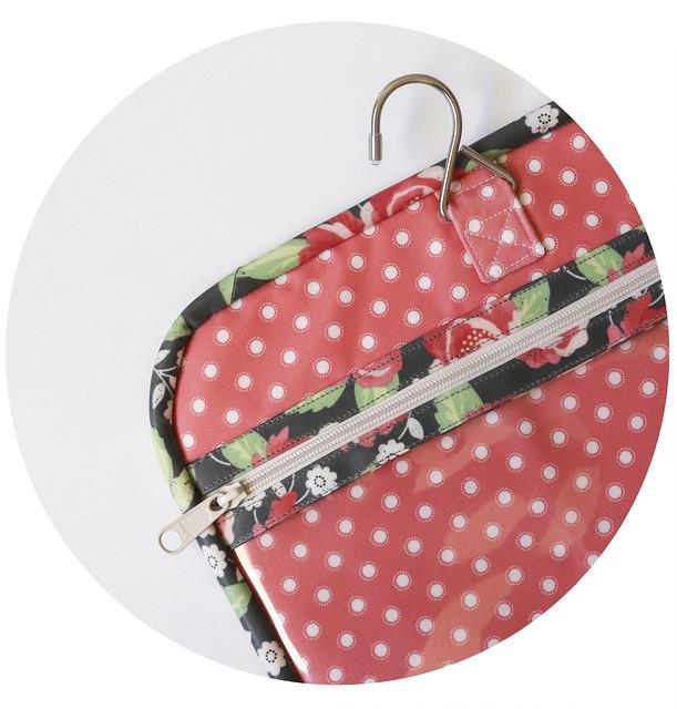 Pink Grunge Polka Dots Therapist Bag