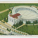 1931-Postcard-Aeroplane View of Memorial Amphiteathre, Arlington, VA., from the east