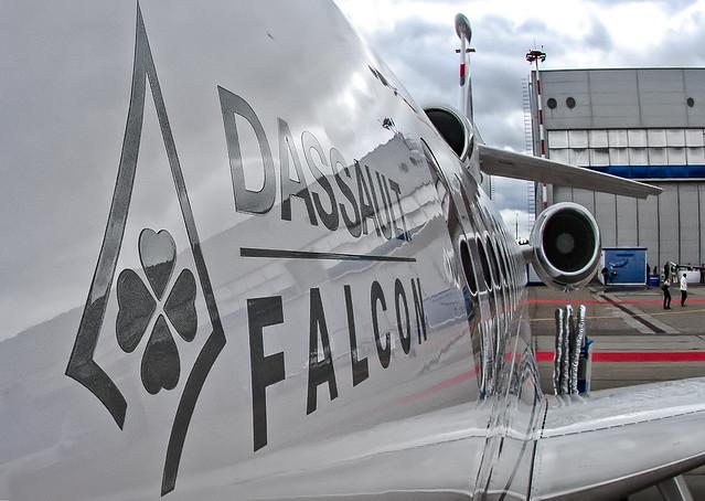 N88FJ Dassault Falcon 8X