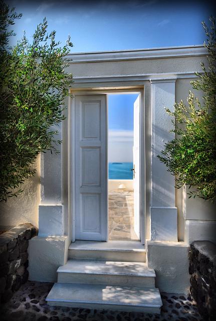 *Blue Sky Door