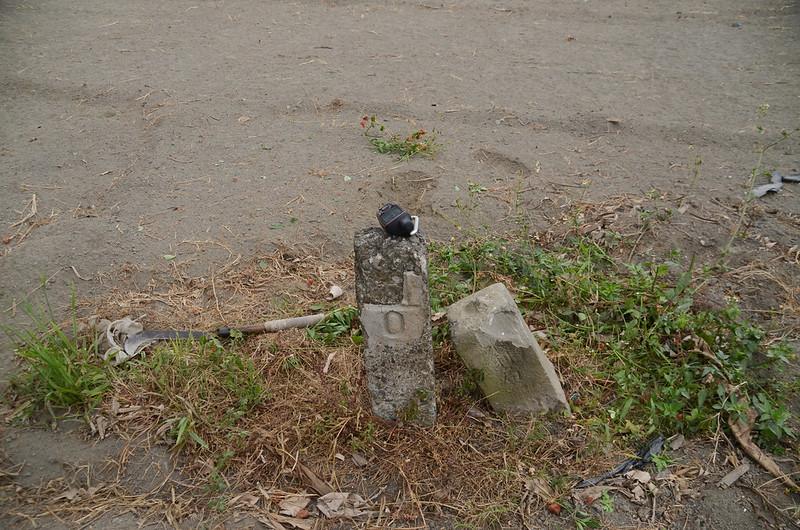 福海農場總督府11-0水泥柱、水利局林河第11號石柱(Elev. 22 m) (2)