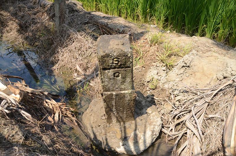 五塊厝昭和二年總督府內務局林邊溪左6-0號水準點(Elev. 6 m) (3)