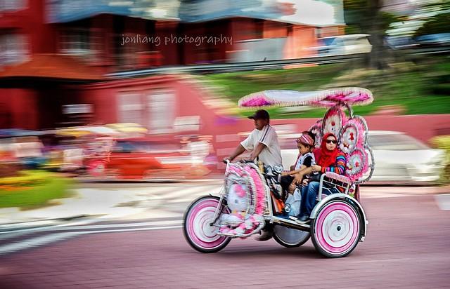 Trishaw Ride -1