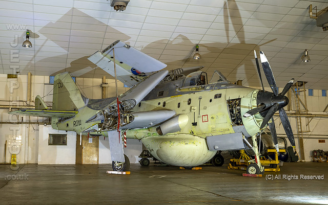Fairey Gannet, AEW.3, XL500,  at Threshold.Aero Day/Nightshoot at South Wales Aviation Museum