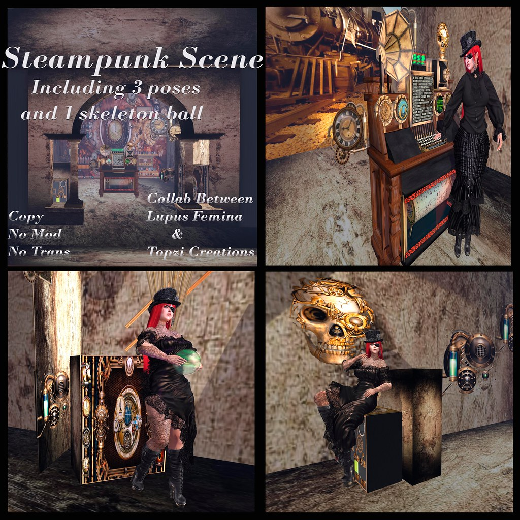 Steampunk Scene flickr