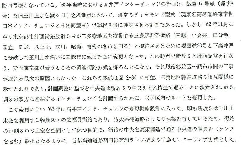 中央道路線選定に係る東京都都市計画との調整2