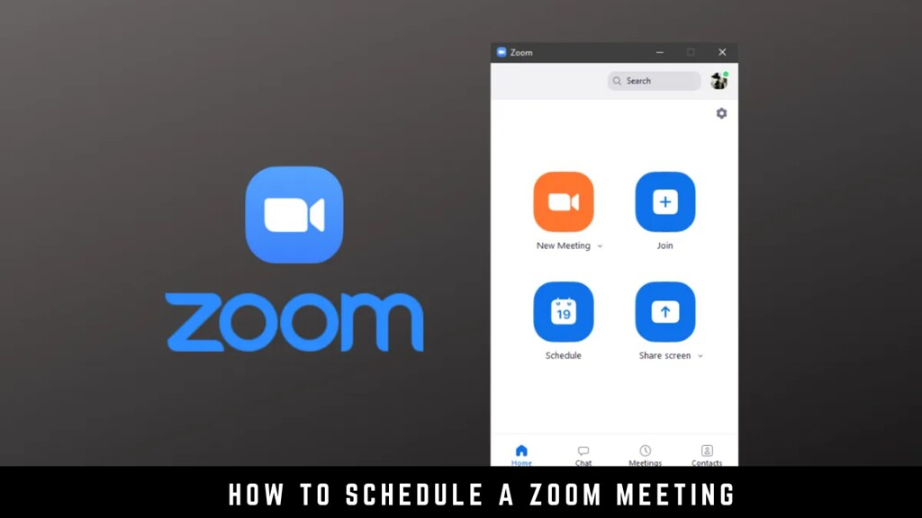 How to Schedule a Zoom Meeting