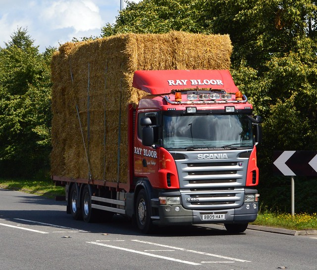 Ray Bloor BB09 HAY At Welshpool