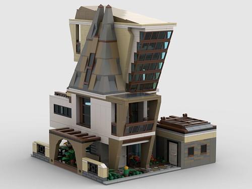 LEGO contemporary living 32 x 32 baseplate_2