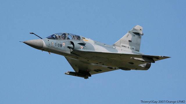 French Air Force Dassault Mirage 2000B - 5-OW / 519
