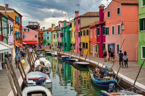 Burano - busy time of day